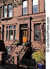 Viagem, fotografias, Novo, York, -, Manhattan