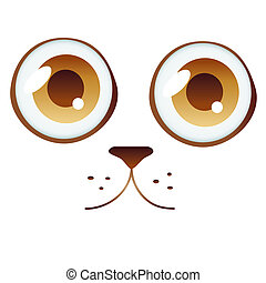 cat eyes - is an illustration in EPS file.