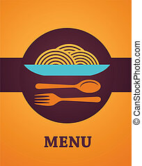 Restaurant menu design - Template designs of menu. Vector...