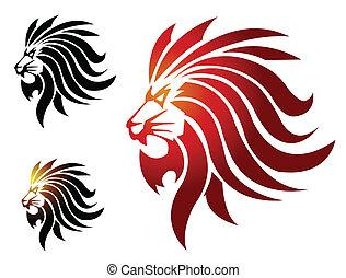 Leão, mascote