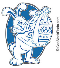 Rabbit Easter Symbol