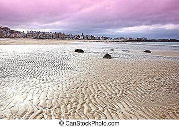 The beach at North Berwick, East Lothian