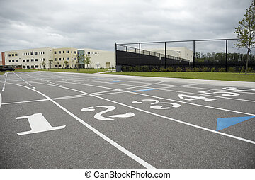 Track at Middle School
