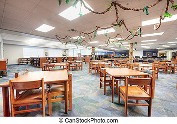 Library at Middle School