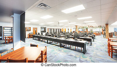 Media Center at Middle School