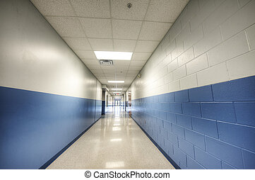 Hallway at Middle School