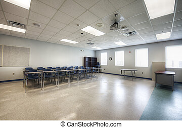 Classroom at Middle School