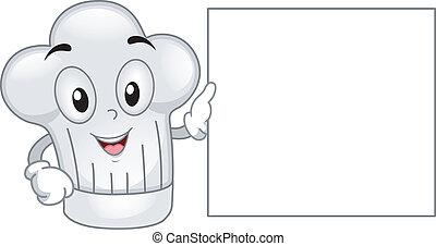 Toque Mascot - Mascot Illustration Featuring a Toque