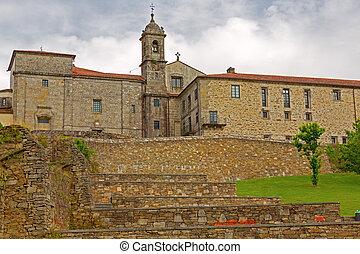 belvis convent in Santiago de Compostela, Spain