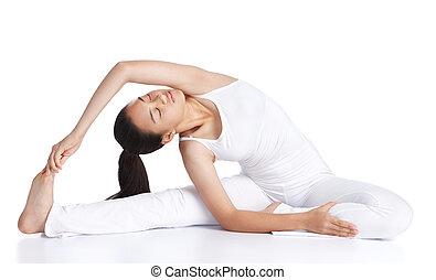 yoga, ejercitar