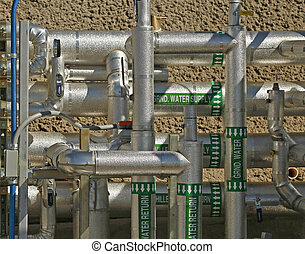 Water Pipes - Steel and aluminum water pipes, valves and...