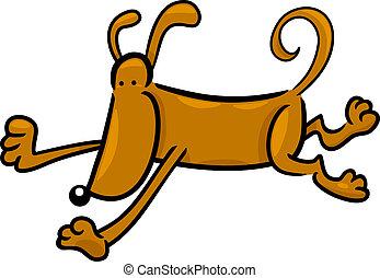 garabato, Funcionamiento, perro, caricatura