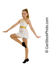 Tween Jazz Dancer - Tween Aged Jazz Dancer Performing in...