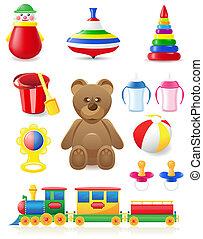 icon of toys