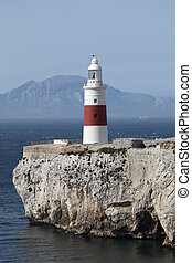 Lighthouse at the Europa Point, Gibraltar