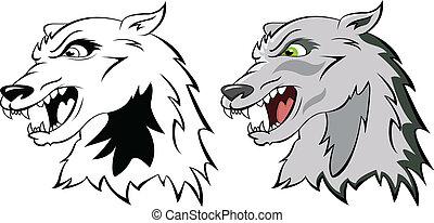head a wolf
