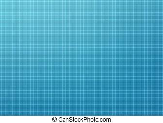Modern Blueprint Grid - Clean, abstract, modern, blueprint...