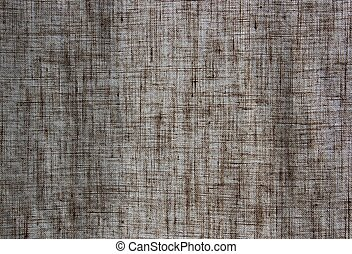 linen courtain - texture of linen curtain