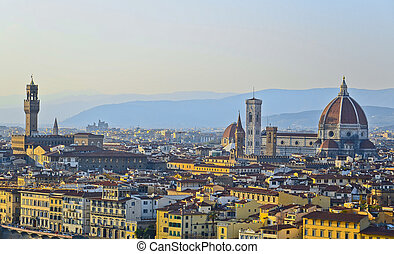 Santa Maria del Fiore of Florence, Tuscany, Italy