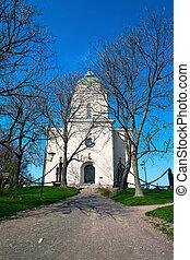 Church - a beacon of Suomenlinna