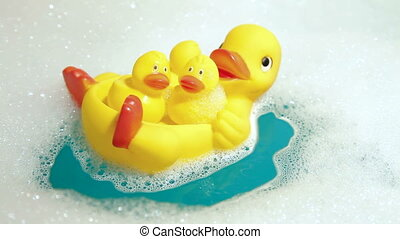 Bathroom Rubber Duckling