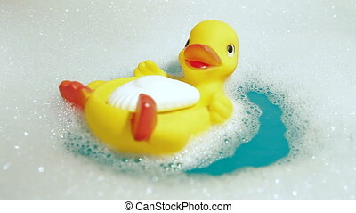 Rubber Duck and Soap - Rubber Duck and Baby Soap in the...