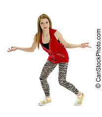 I Dont Care or Say What - Hip Hop Dancer seems to say I dont...