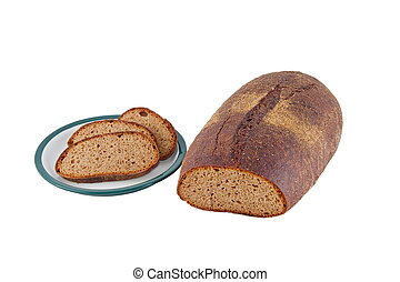 Image of dietary loaf of rye bread