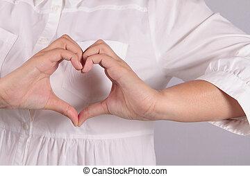 corazón, forma