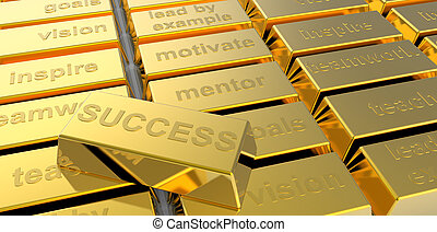 success of gold as business concept