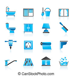 Construction and building icons - Construction and building...
