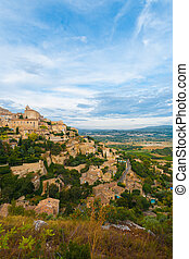 Gordes Provence Hilltop Stone Village V - A beautiful...