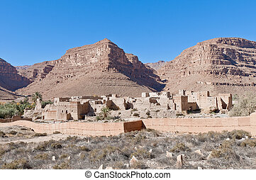 Ifri Kasbah located at Morocco - Ifri Kasbah located on...