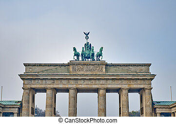 The Brandenburger Tor at Berlin, Germany