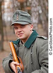 WWII german soldier - Reenacting