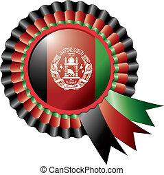 Afghanistan rosette flag