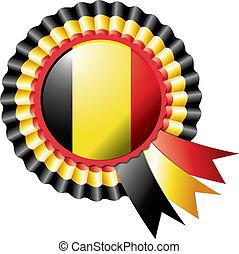 Belgium rosette flag