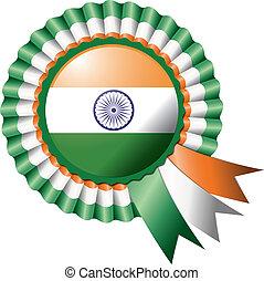 India rosette flag
