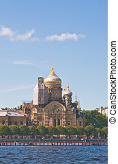 St. Petersburg. Church of the Assumption of the Blessed...