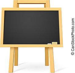 School board Illustration for design on white background