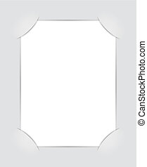 Photo Album Illustration for design on white background