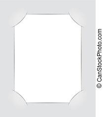 Photo Album. Illustration for design on white background