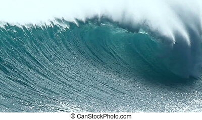 ocean wave in hawaii