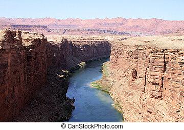 Colorado River at Marble Canyon, AZ