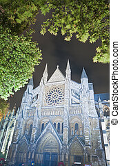 Westminster Abbey at London, England