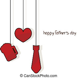 father's day card for father's day occasion and greeting...