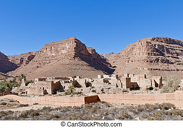 Ifri Kasbah located at Morocco