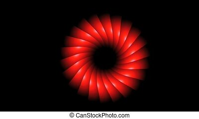 red ring rotate
