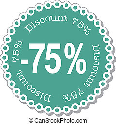 Discount seventy five percent - illustration stickers for...