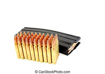 223, munições,  clip